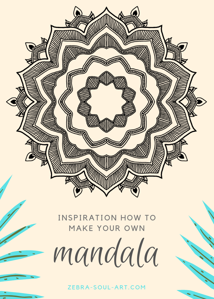 Inspiration how to make your own mandala