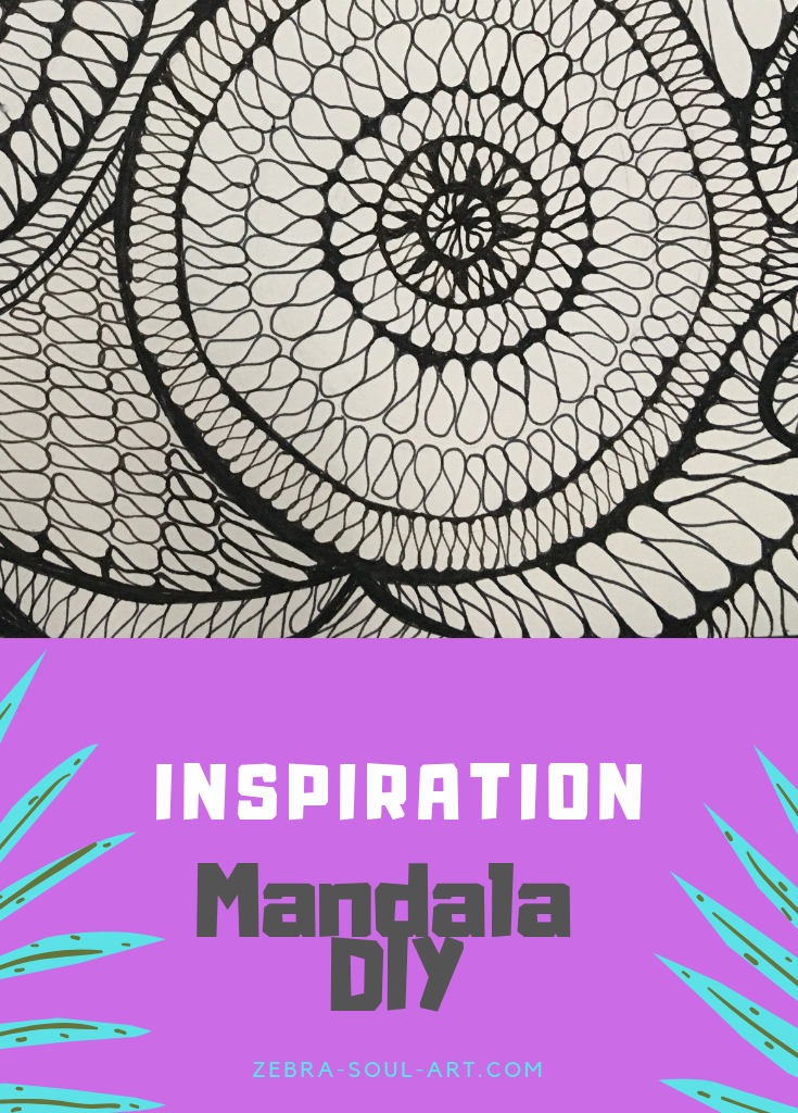 Mandala Inspiration for your DIY Mandala / Zebra Soul Art: check out my free resources and find some mandala inspirations that will help you get started with your own mandala from scratch