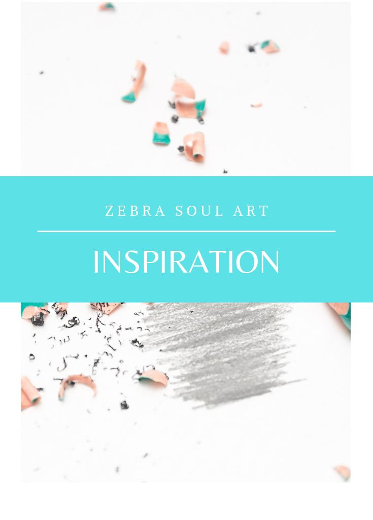 zebra soul art inspiration
