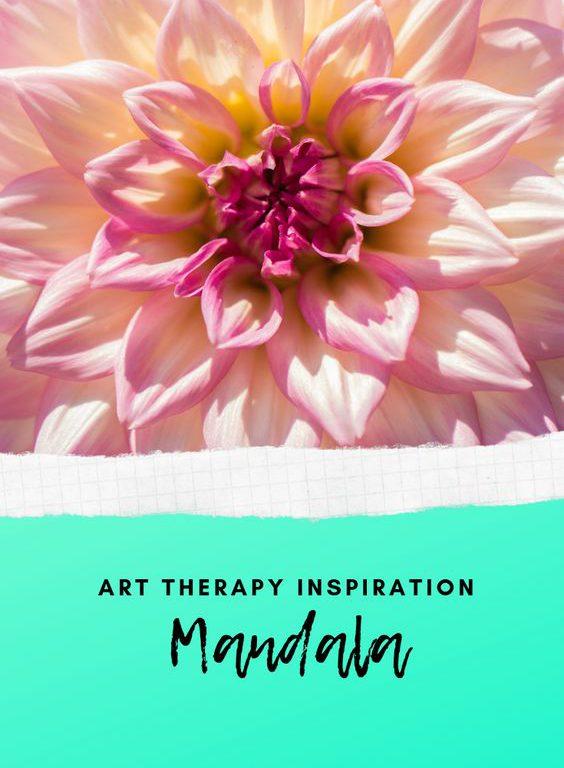 soft pink inspiration mandala