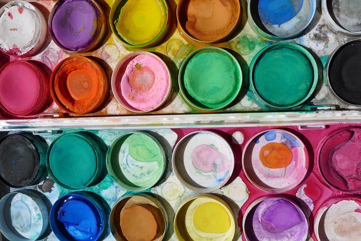 create with water colors