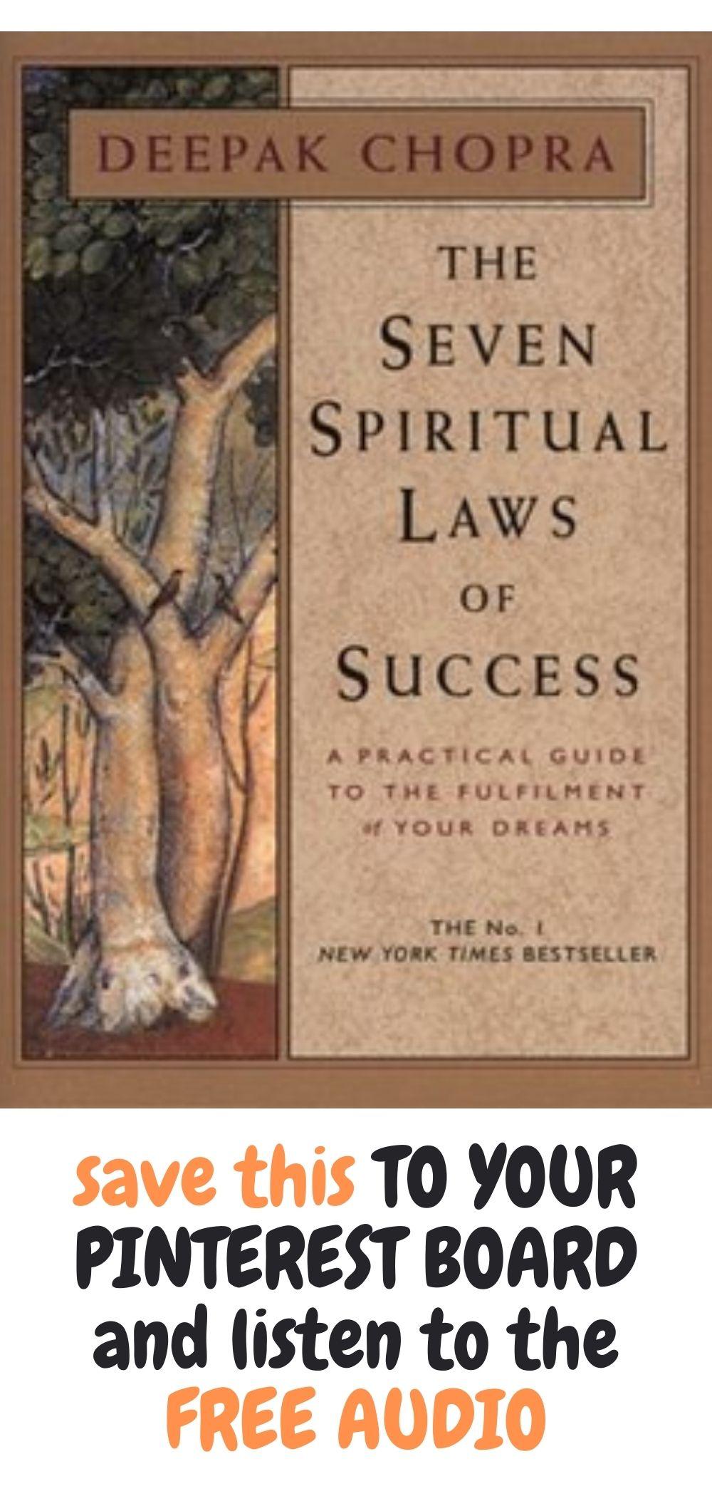 free audio books deepak chopra the seven spiritual laws of success