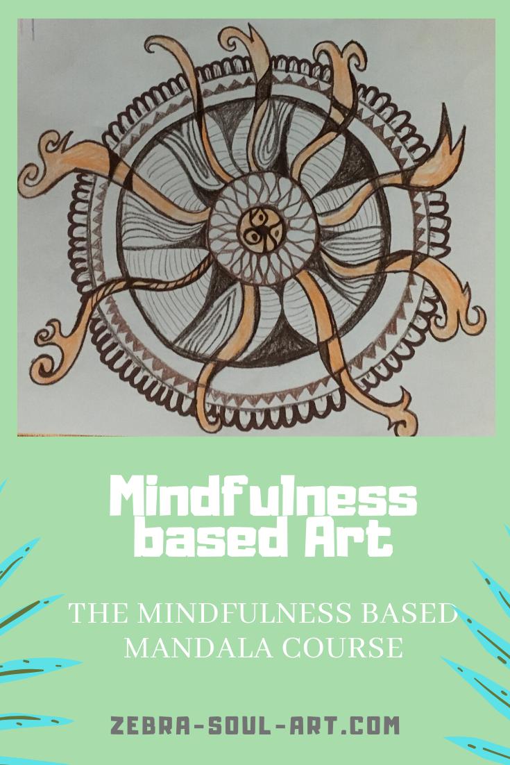 udemy mindfulness based art course: mindfulness mandala drawing course